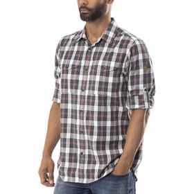 Fjällräven Singi Flannel Camiseta de manga larga Hombre, dusk